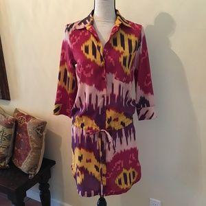 Rachel Pally Shirtdress, Pink multi, XS